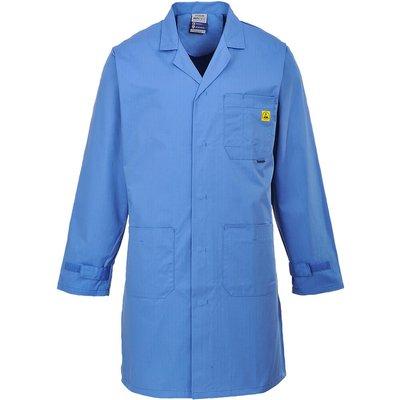 Portwest Anti Static ESD Coat Blue 3XL