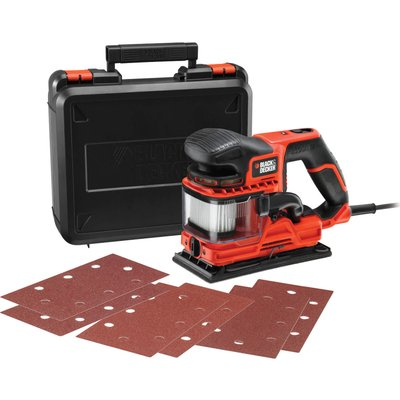 Black and Decker KA330EKA Duosand Sheet Sander Kit 240v