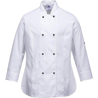 Portwest Ladies Rachel Chefs Jacket White S