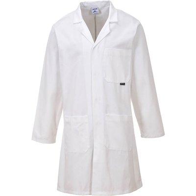 Laboratory Cotton Coat White L