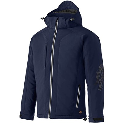 Dickies Mens Winter Softshell Jacket Navy S