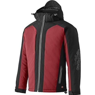 Dickies Mens Winter Softshell Jacket Red / Black S