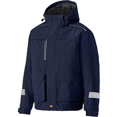 Dickies Mens Winter Jacket Navy S
