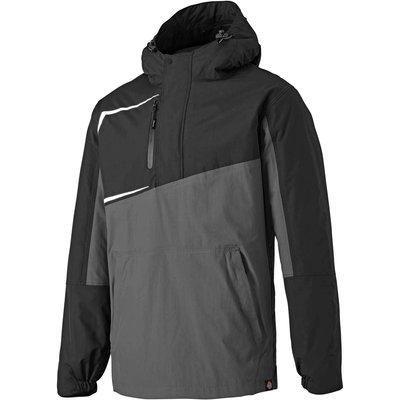Dickies Generation Over Head Waterproof Jacket Grey/ Black S