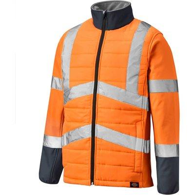 Dickies Hi-Vis Loudon Jacket Orange / Navy S