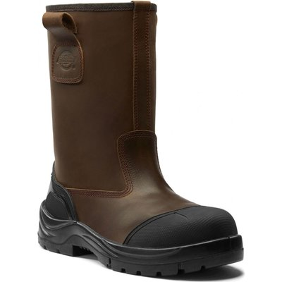 Dickies Mens Stafford Rigger Boots Brown