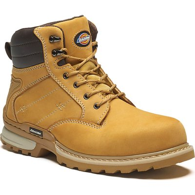 Dickies Mens Canton Safety Boots Honey
