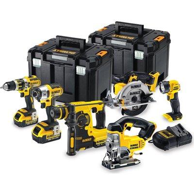 DeWalt DCK699M3T 18v XR Cordless Brushless 6 Piece Power Tool Kit 3 x 4ah Li-ion Charger Case