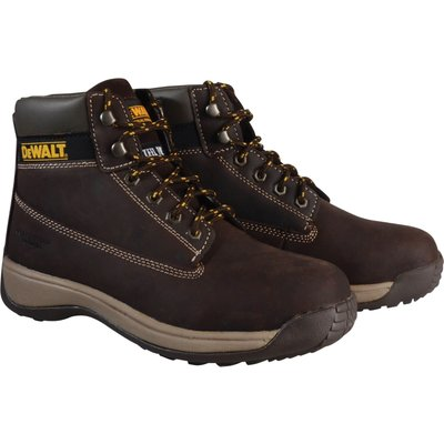 DeWalt Mens Apprentice Nubuck Safety Boots Brown