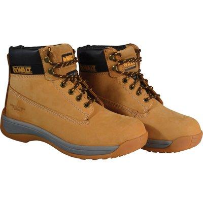 DeWalt Mens Apprentice Nubuck Safety Boots Wheat