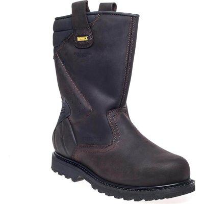 DeWalt Mens Rigger Safety Boots Brown