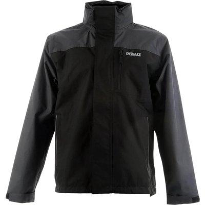DeWalt Mens Storm Lightweight Waterproof Jacket Grey/ Black L