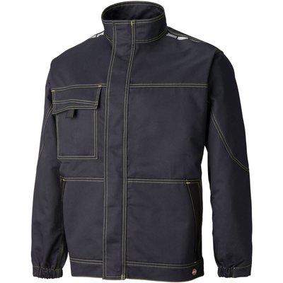 Dickies Mens Lakemont Jacket Black / Lime M