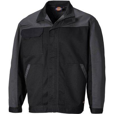 Dickies Mens Everyday Jacket Black / Grey 2XL