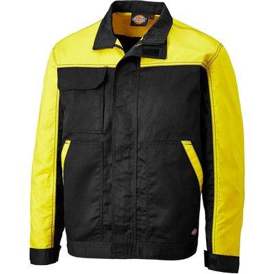 Dickies Mens Everyday Jacket Black / Yellow L
