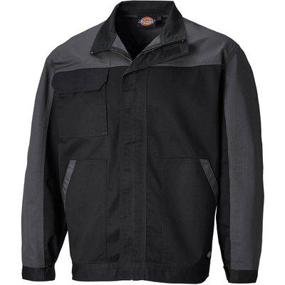 Dickies Mens Everyday CVC Jacket Black / Grey 2XL