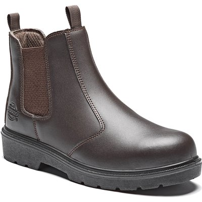 Dickies Mens Dealer Safety Boots Brown