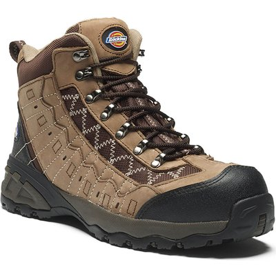 Dickies Mens Gironde Safety Boots Brown