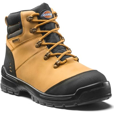 Dickies Mens Cameron Safety Boots Honey