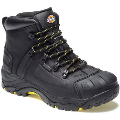Dickies Mens Medway Safety Hiker Boots Black