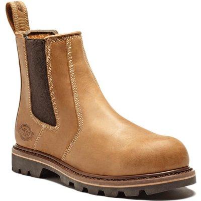 Dickies Mens Fife II Dealer Safety Boots Tan