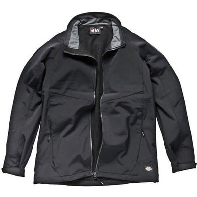 Dickies Mens Softshell Jacket Black L