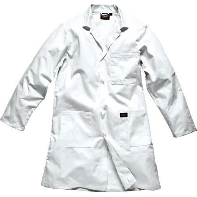 Dickies Redhawk Warehouse Coat White M