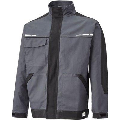 Dickies Mens GDT Premium Jacket Grey/ Black M