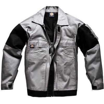 Dickies Mens Grafter Duo Tone Jacket Grey/ Black S