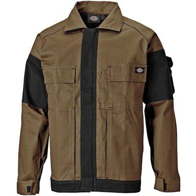 Dickies Mens Grafter Duo Tone Jacket Khaki / Black L
