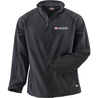 Facom Mens Water Repellent Work Jacket Black XL