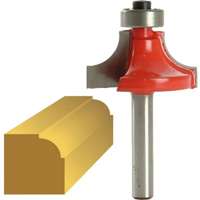 """Faithfull Bearing Guided Rounding Over Ovolo Router Cutter 32mm 16mm 1/4"""""""