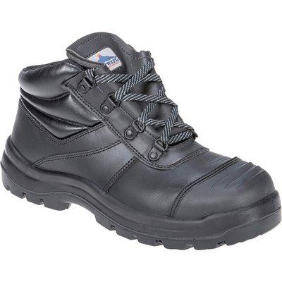 Portwest Pro Mens Trent S3 Safety Boots Black
