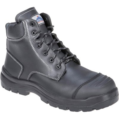 Portwest Pro Mens Clyde S3 Safety Boots Black