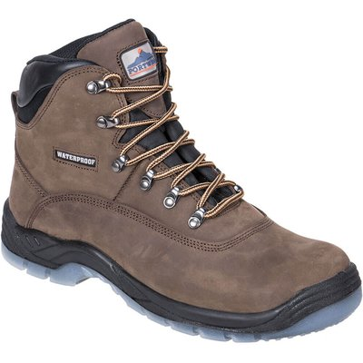 Steelite Mens Aqua S3 All Weather Safety Boots Brown
