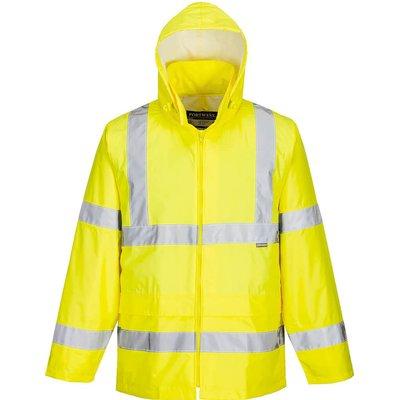 Portwest Hi Vis Rain Jacket Yellow 5XL