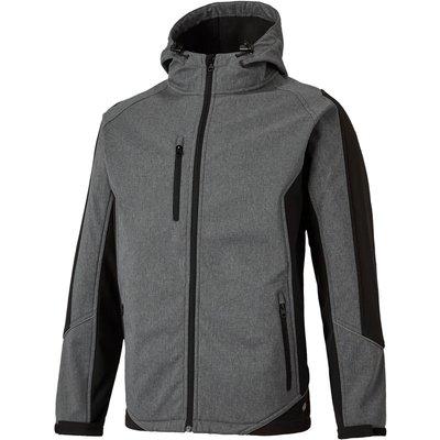 Dickies Mens Wakefield Jacket Grey/ Black L
