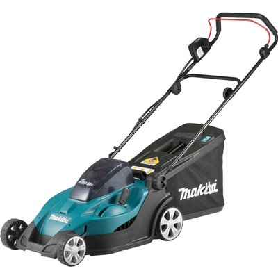 Makita DLM431 Twin 18v Cordless Rotary Lawnmower 430mm No Batteries No Charger - 088381806527