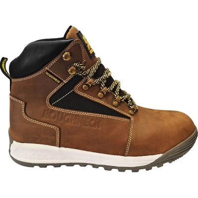 Roughneck Mens Sabre Safety Boots Brown