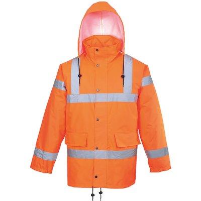 Oxford Weave 300D Class 3 Hi Vis GO/RT Breathable Jacket Orange S