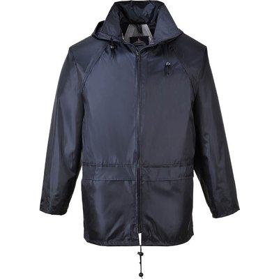 Classic Mens Rain Jacket Navy XS