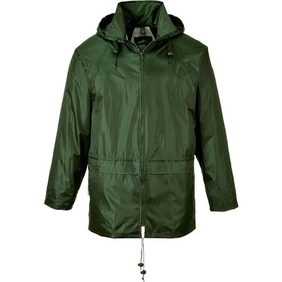 Classic Mens Rain Jacket Olive M