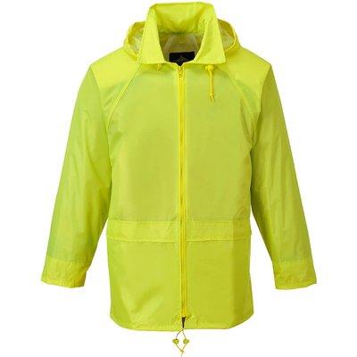 Classic Mens Rain Jacket Yellow S