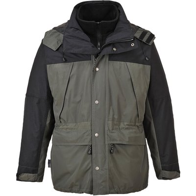 Orkney Mens 3-in-1 Breathable Jacket Grey 4XL