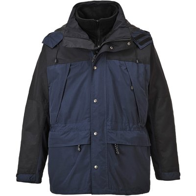 Orkney Mens 3-in-1 Breathable Jacket Navy 4XL