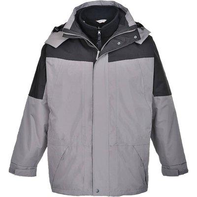 Aviemore Mens 3-in-1 Waterproof Jacket Grey M