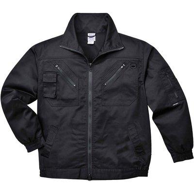 Portwest Action Jacket Black Black L