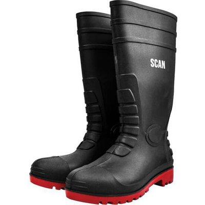 Scan Safety Wellington Boots Dark Green