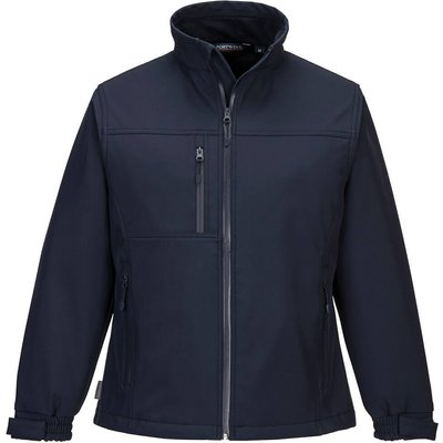 Portwest Ladies Charlotte Softshell Jacket Navy 2XL