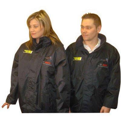 Bosch Mens Regatta Dover Fleece Lined Jacket with Tooled-Up Logo XL